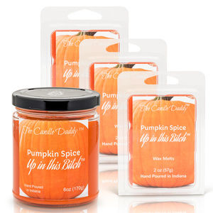 Funny Pumpkin Spice 4 pack Candle & 3 Melts
